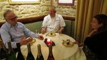 Les crémants de Bourgogne accompagnent idéalement un repas : le dessert