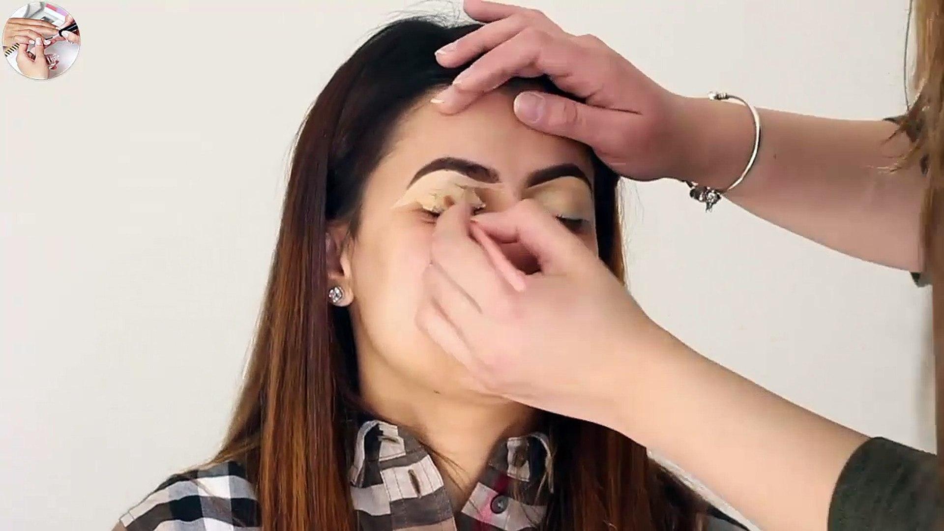walima asian bridal hair makeup tutorial
