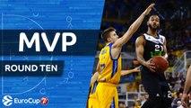 7DAYS EuroCup Regular Season Round 10 MVP: John Roberson, Asvel Villeurbanne
