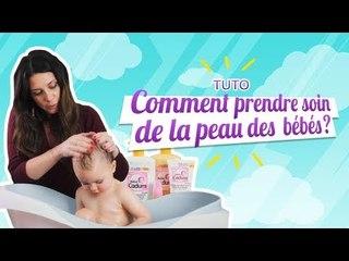TUTO : Comment prendre soin de la peau des bébés
