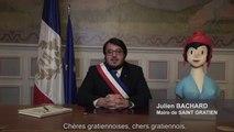 Julien Bachard, Maire de Saint Gratien, et les membres du Conseil Municipal vous souhaitent une belle année 2018