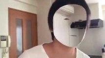Ce développeur a rendu son visage invisible sur son téléphone