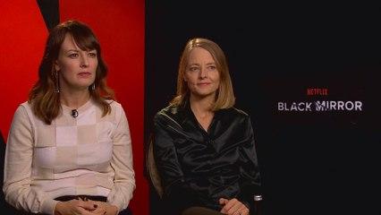 "Jodie Foster Says ""Black Mirror"" Will Continue to Be ""Dark"""