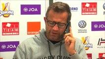 """VIRAL: 14e j. - """"On sort demain soir ?"""" - L'appel de Galthié en pleine conférence de presse"""
