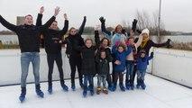 'Er kan toch geschaatst worden op Voorne-Putten' - opening schaatsbaan / Zuidland 2017