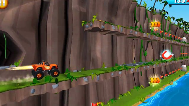 Blaze and the Monster Machines  Blaze Obstacle Course - Blaze Monster Machines Transform Super Eagle