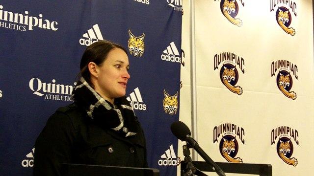 Quinnipiac Head Coach Cassandra Turner 12-28