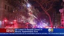 New York en proie cette nuit à un des pires incendies de ces dernières années: Au moins 12 morts