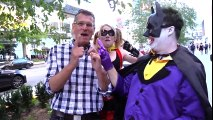 JOKER & HARLEY QUINN play Batman & Robin - Real Life Superhero Movie! - TheSeanWardShow | Superheroes | Spiderman | Superman | Frozen Elsa | Joker