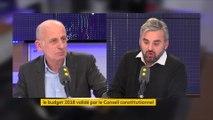 """Alexis Corbière pointe """"le manque d'audace"""" du Conseil constitutionnel sur """"un budget injuste"""""""