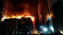 ١٤ قتيلا على الاقل في حريق هائل في مطعم في بومباي