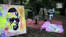 Portrait de HADHA, l'artiste peintre qui a prédit dans une peinture, que IBK irait chercher ATT