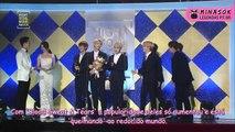 [Legendado PT-BR] BTS ganha prêmio de 'Melhor Álbum' com WINGS! (DAESANG) @ SMA2017