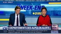 Neige: 4 départements des Alpes en alerte orange