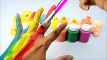 Learn Colors For Children Body Paint Fing