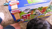Thomas and Friends _ PERCY AND THE LITTLE GOAT! Fun Toy Trains for Kids _ Thom