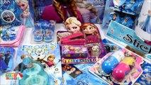 Frozen Disney Elsa   Anna Frozen Funny Huge Surprise Boxes Frozen Surprise Toys Video by Haus Toys-