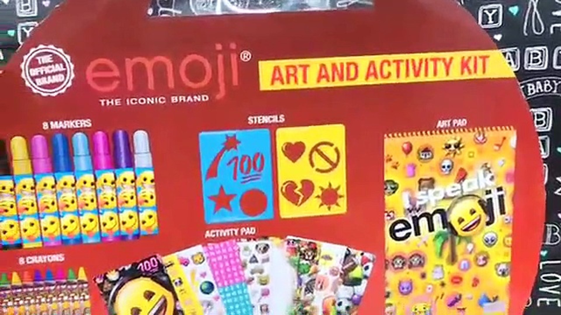 Emoji Art And Activity Kit For Kids Creativity _ itspl