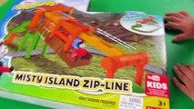 Thomas and Friends _ Thomas Adventures Misty Island Zipline with Thomas Train! Fun Toy Tra