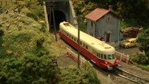 Réseau modulaire du club des Trains Miniatures de l'Omois avec une voyage en cabine du train - Une vidéo de Pilentum Télévision sur le modélisme ferroviaire avec des trains miniatures