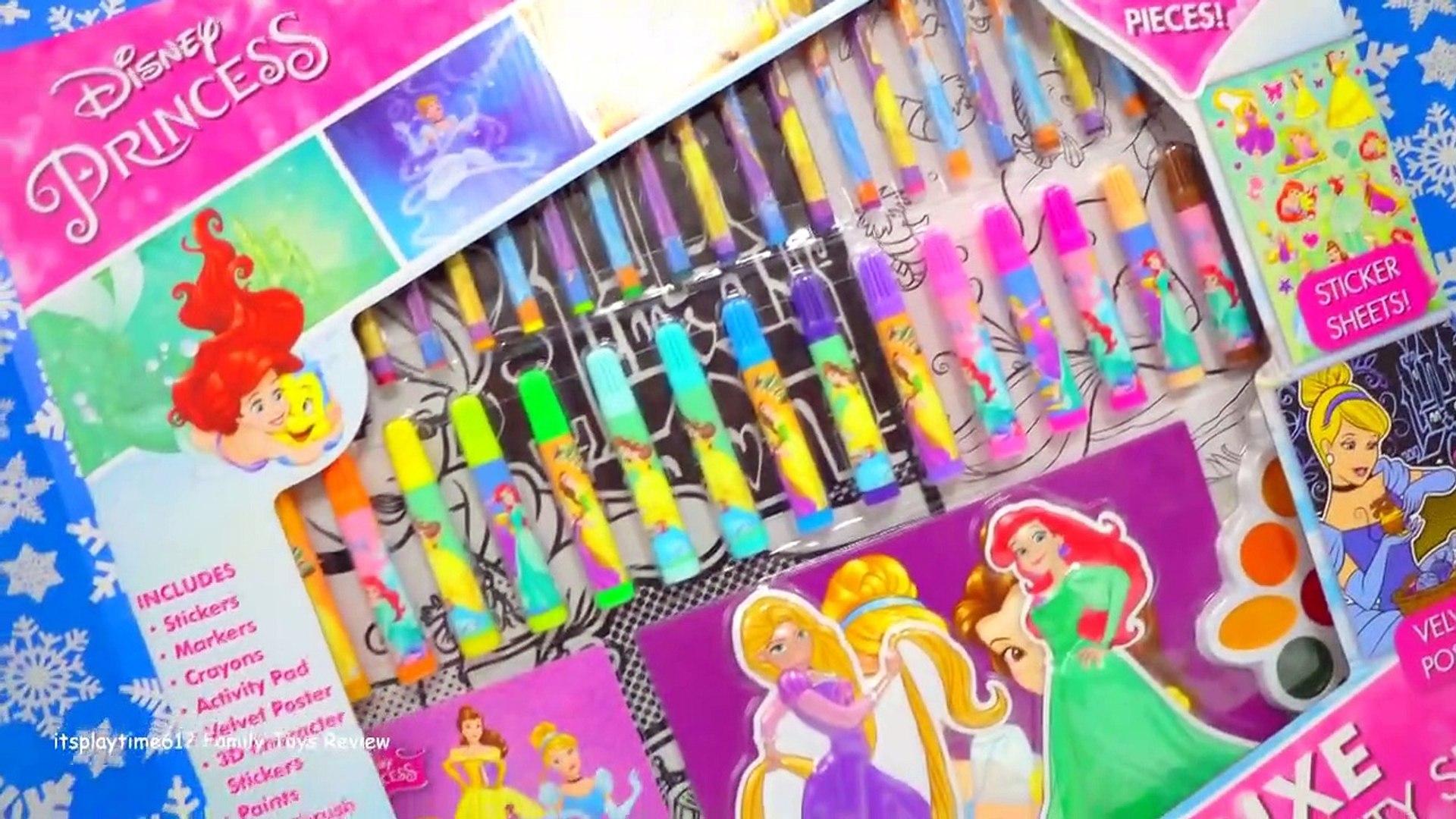 DISNEY PRINCESS Color & Activity Set Creativity for Kids _ itsplaytime612