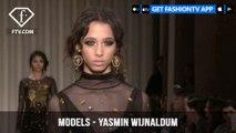 Yasmin Wijnaldum Dutch Fashion Model Elite Amsterdam F/W 17-18 | FashionTV | FTV