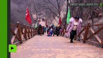 [Actualité] En Chine, le pont de verre le plus long du monde ouvre au public