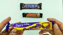 Snickers, Mars Cadbury chocolate。need a snack when hungry?