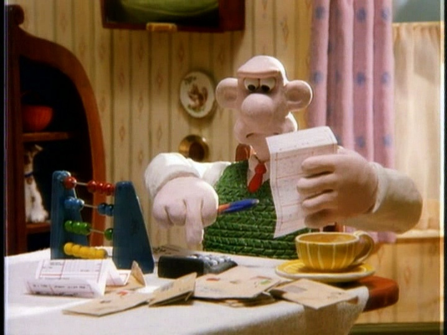 Wallace And Gromit The Wrong Trousers Room To Let