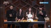 BTS JIN SAYS HE IS... MC CUT KBS Song Festival 2017(Jin, Chanyeol, Sana & Irene)