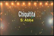 Abba Chiquitita Karaoke Version