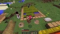 ZENGİN VS FAKİR ÖRÜMCEK ADAM #33 - Fakir'in Yılbaşı Hediyesi (Minecraft)