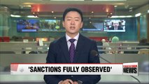 """Russia says UN sanctions """"fully observed"""" in response to reports of oil transfers to N. Korea"""