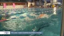 L'incroyable histoire de Théo, 17ans, champion de natation sans bras et sans jambes - Regardez
