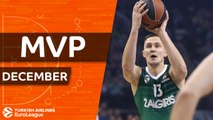 Turkish Airlines EuroLeague MVP for December: Paulius Jankunas, Zalgiris Kaunas
