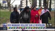 Aulnay-sous-Bois: des mamans veillent sur le réveillon