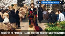 Maria Grazia Chiuri Business of Fashion Haute Couture for the Modern Woman | FashionTV | FTV