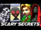 Top 10 CREEPY SECRETS in Nintendo Games (3DS, Wii, N64)