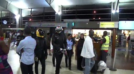 ARRIVEE DE DAFT PUNK TRIBUTE A ABIDJAN (By Panoramic Pixels)