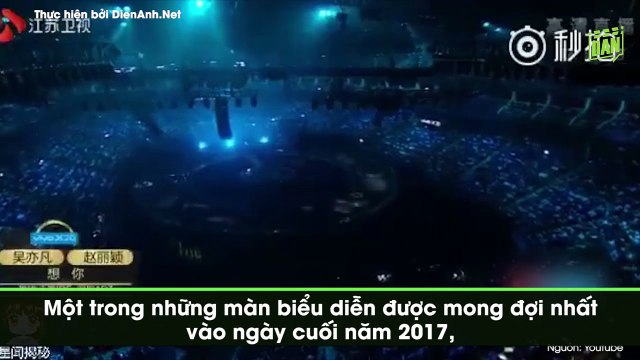 Fan dậy sóng vì Ngô Diệc Phàm và Triệu Lệ Dĩnh quá mức ngọt ngào trên sân khấu chung