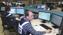 112 Güvenlik ve Acil Durumlar Koordinasyon Merkezlerinde yılbaşı çalışmaları - ANKARA