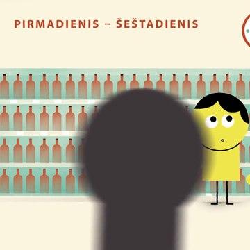 Prekybos alkoholiu pasikeitimai nuo 2018 sausio 1 d.