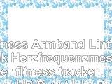 Fitness Armband Lintelek Herzfrequenzmesser fitness tracker Plus HR Sport Uhr Bracelet