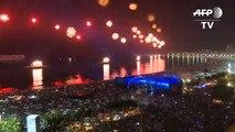 Copacabana dá boas boas-vindas a 2018