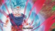 Super Saiyan Blue Kaioken Goku vs Super Saiyan Kefla - Dragon Ball Super Episode 115 English Sub