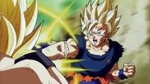 Goku Super Saiyan 2 vs Caulifla Super Saiyan 2 - Dragon Ball Super Episode 113 English Sub