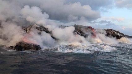 Volcan de Big Isalnd Hawai