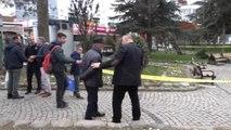 Düzce Banka Bırakılan Çanta Fünye ile Patlatıldı
