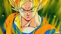 Gohan Goten and Goku vs. Broly