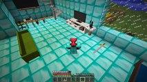 ZENGİN VS FAKİR ÖRÜMCEK ADAM #34 - Zengin ve Fakir Yılbaşı'nı Kutluyor (Minecraft)